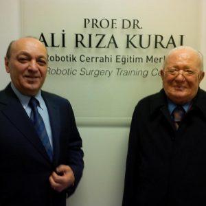 Prof. Dr. Ali Rıza Kural Robotik Cerrahi Eğitim Merkezi